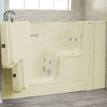 Gelcoat Value Series 32x52 Walk-in Whirlpool Tub  American Standard - Linen
