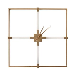 Katie Gold Clock