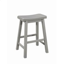 Casual Grey Counter-height Stool