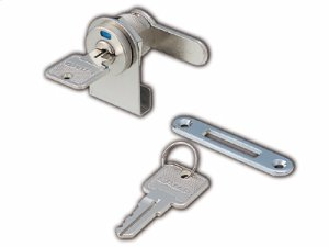 Glass Door Lock (w/ Indicator) Product Image