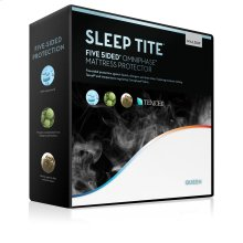 Five 5ided® Mattress Protector with Tencel® + Omniphase® Queen