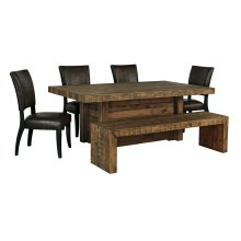 Sommerford - Brown 6 Piece Dining Room Set
