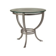 Andress Round End Table