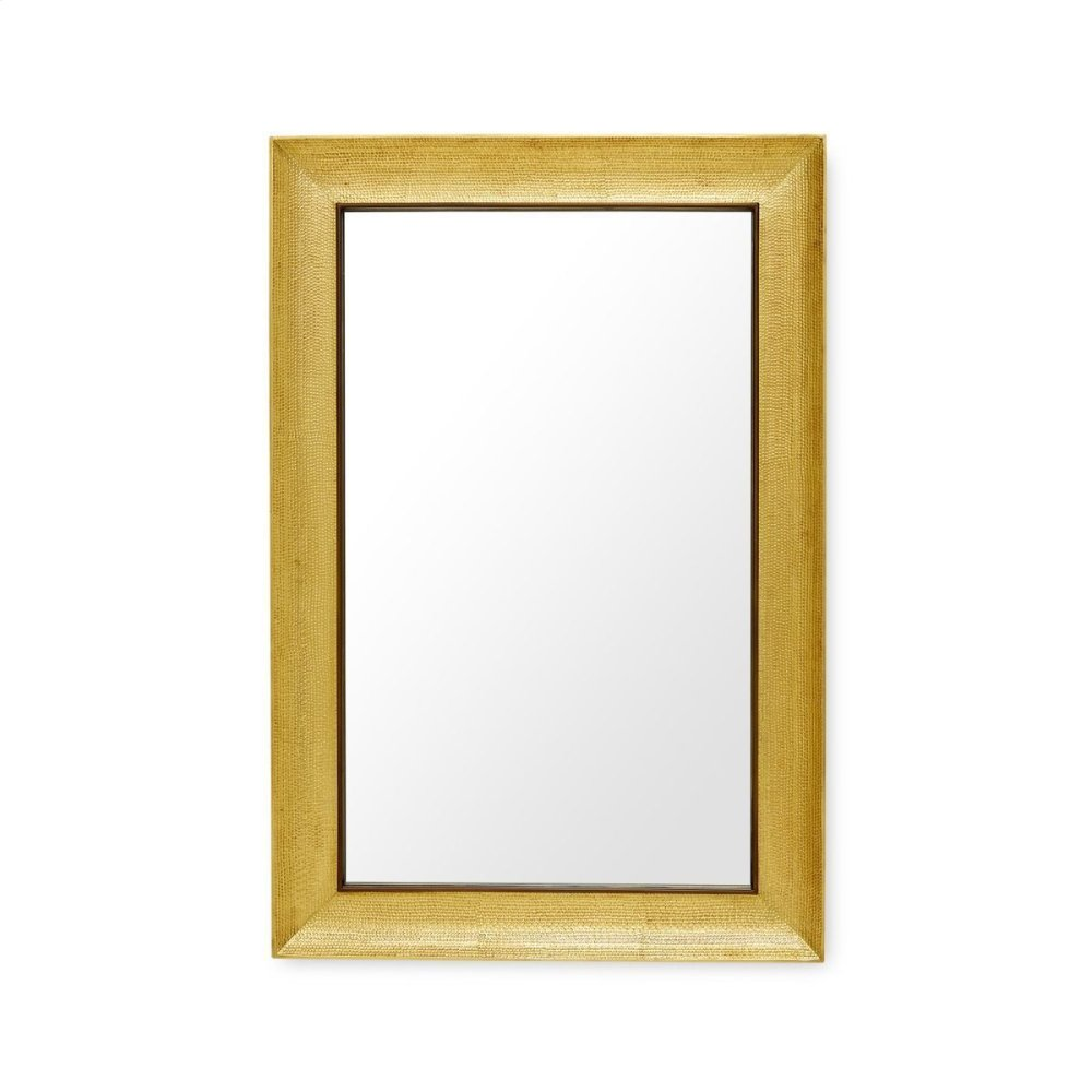 Melinda Mirror, Antique Brass