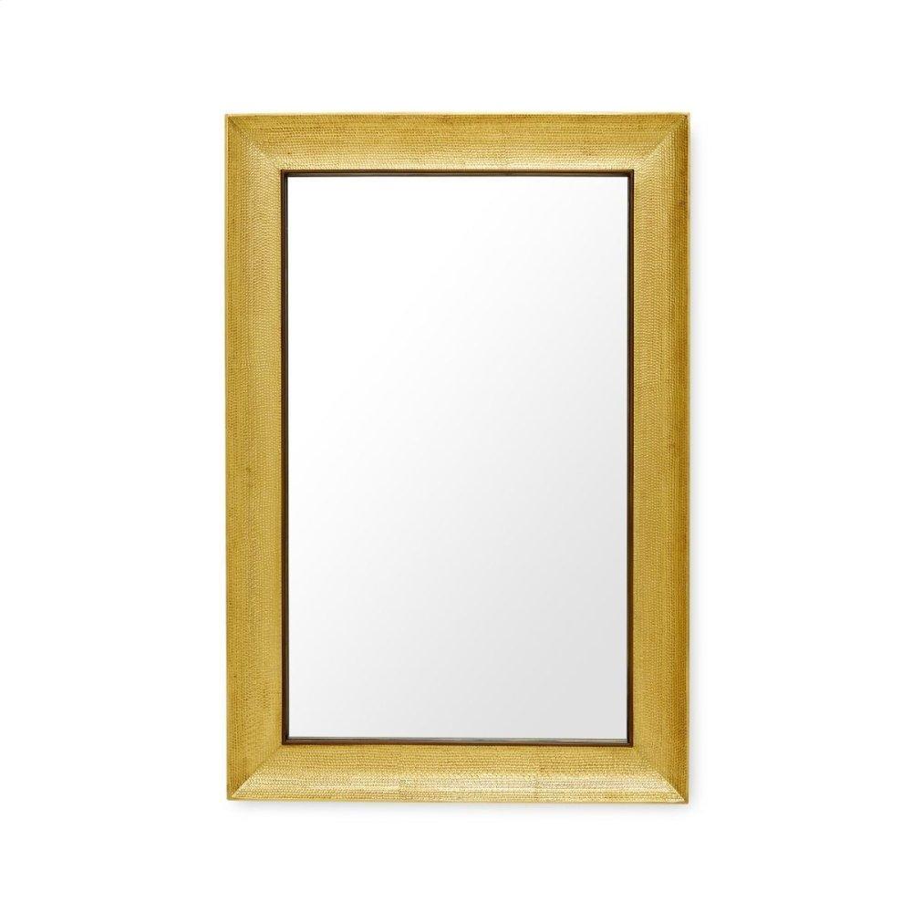 Melinda Mirror, Antique Brass