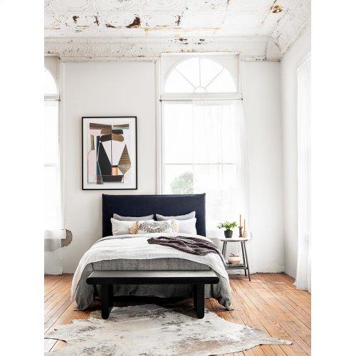 Universal Metal Bed Frame-black