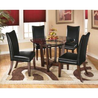 Charrell Black 5 Piece Dining Room Set