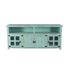 "Marfa Aqua Green 70"" TV Stand"