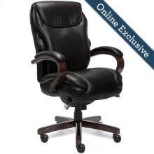 Hyland Executive Office Chair, Black
