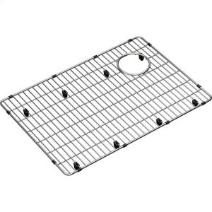 "Elkay Crosstown Stainless Steel 22-1/2"" x 15-1/2"" x 1-1/4"" Bottom Grid Product Image"