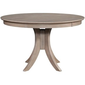 30'' H Siena Pedestal Table in Taupe Gray