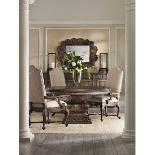 Dining Room Rhapsody Upholstered Arm Chair