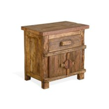 Teak - End Table/ Night Stand