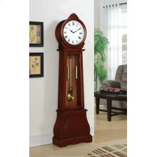 Transitional Brown Grandfather Clock