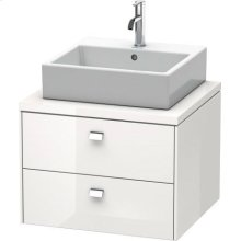 Brioso Vanity Unit For Console, White High Gloss (decor)