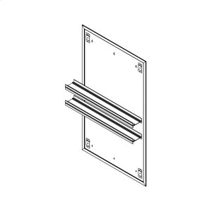 """Profiles 23-1/4"""" X 40"""" X 15/16"""" Mirror Ganging Kit for A Seamless Transition With Profiles Cabinets and Profiles Lighting (depth Is 4-11/16"""" When Surface-mounted) Product Image"""