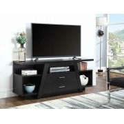 Contemporary Cappuccino TV Stand Product Image