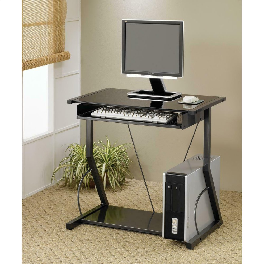 Transitional Computer Desk
