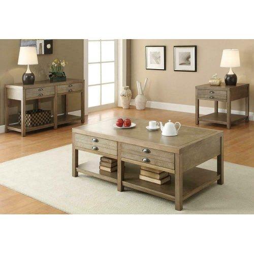 Occasional Group Casual Light Oak Sofa Table