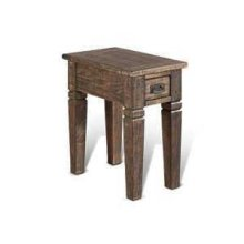 Homestead Chair Side Table w/ 1 Drawer