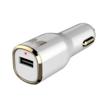 Mobile® iCarCharger MAX 1 - White and Gold