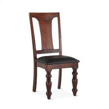 """Colonial Plantation Dining Chair 18"""" Upholstered Light"""