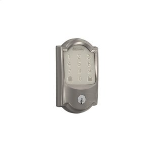 Schlage Encode Smart WiFi Deadbolt with Camelot Trim - Satin Nickel Product Image
