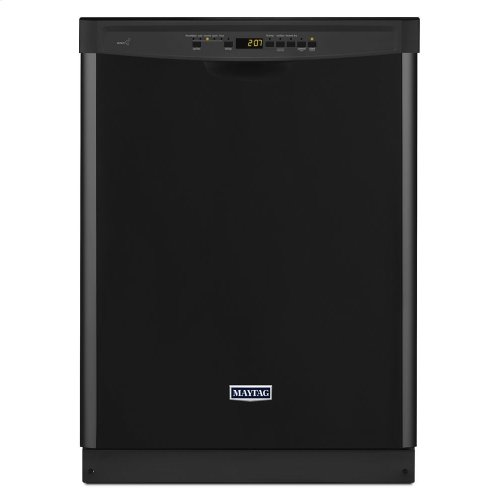 Maytag® 24-inch Wide Front Control Dishwasher with 4-Blade Stainless Steel Chopper