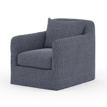 Faye Navy Cover Dade Outdoor Swivel Chair