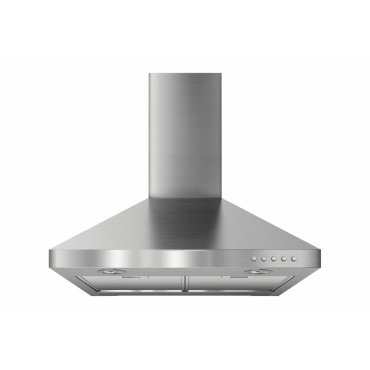 "24"" Wall-Mount Canopy - Stainless Steel"