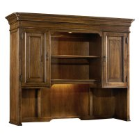 Home Office Archivist Computer Credenza Hutch Product Image