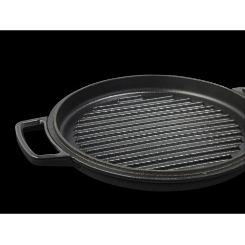 Professional Cast Iron 4-Quart Casserole Onyx Black