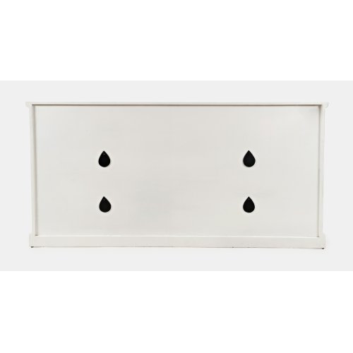 "Decker 70"" Console-antique White"