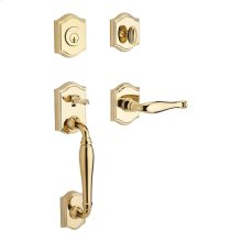 Polished Brass Westcliff Handleset