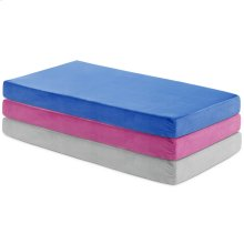 Brighton Bed Youth Gel Memory Foam Mattress Full Grey