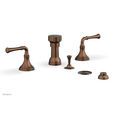 3RING Four Hole Bidet Set D4205 - Antique Copper