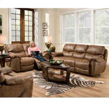 Reclining Sofa w/Nail Head Trim