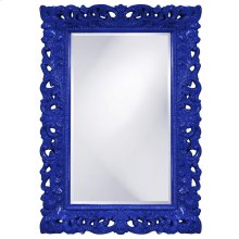 Barcelona Mirror - Glossy Royal Blue