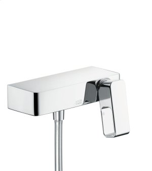 Chrome Single lever shower mixer for exposed installation Product Image
