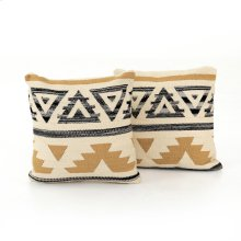 "20x20"" Size Aster Pillow, Set of 2"