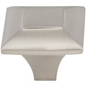 Alston Knob 1 5/16 Inch Brushed Satin Nickel Product Image