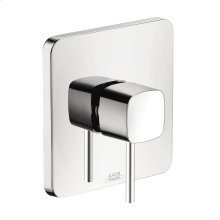 Chrome Single lever shower mixer for concealed installation
