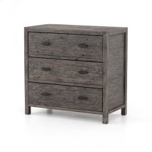 Rustic Black Olive Finish Caminito 3-drawer Dresser