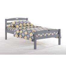 Sesame Bed in Gray Finish
