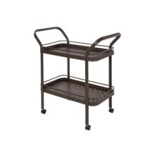 Punched Aluminum Serving Cart