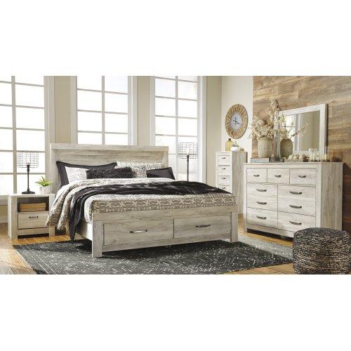 Bellaby - Whitewash 2 Piece Bedroom Set