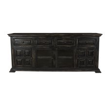 "Charleston Black 70"" TV Stand"