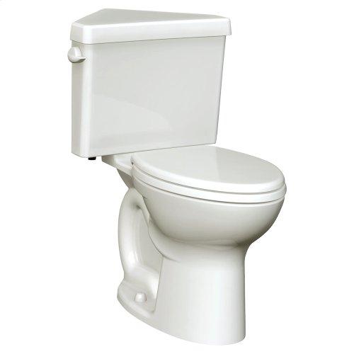Triangle Cadet 3 Corner Elongated Toilet - 1.6 GPF - White