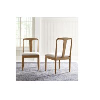 Hygge by Rachael Ray Splat Back Side Chair Product Image