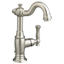 Quentin 1-Handle Monoblock Bathroom Faucet - Brushed Nickel